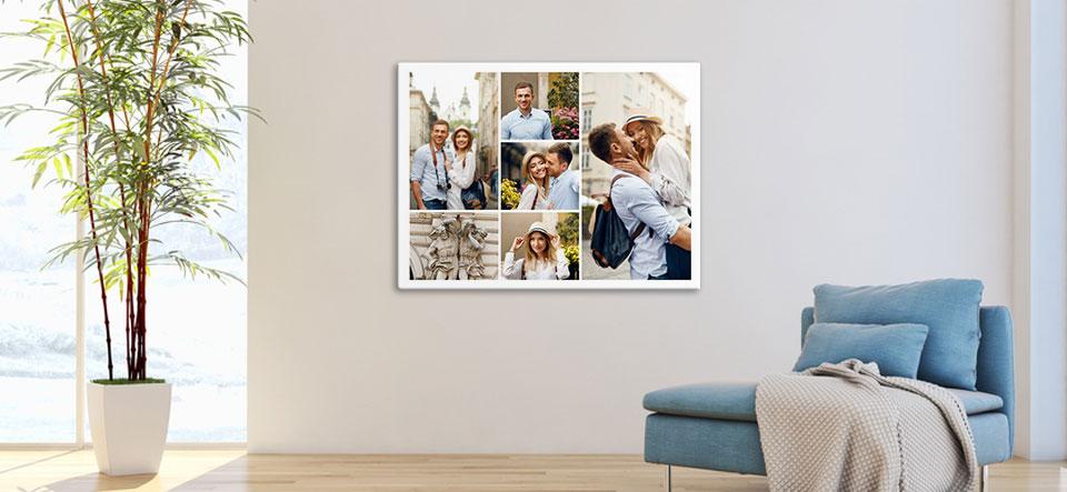 collage maken van fotos appartement