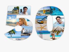 fotocollage 50 verjaardag