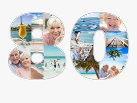fotocollage 80 verjaardag