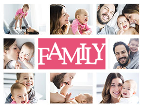 fotocollage familie 1