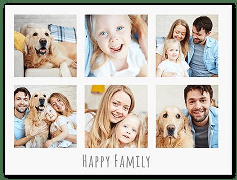 fotocollage familie : nu met meer dan 250 gratis sjablonen!