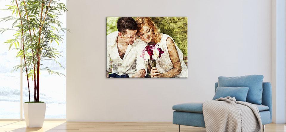 fotomozaiek maken appartement