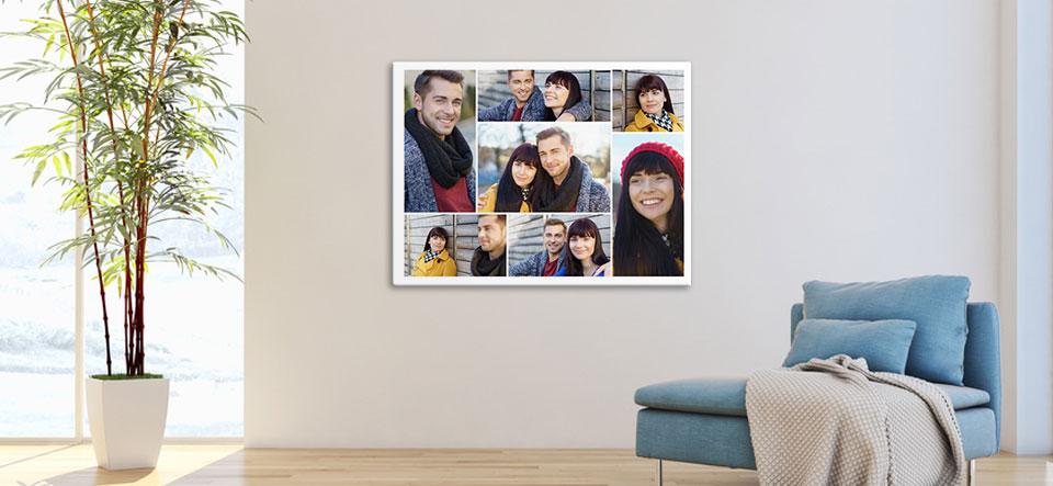zelf collage maken appartement
